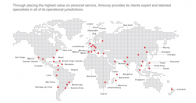 Amicorp Group Global Presence
